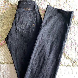 EUC Q Baby~Boot Cut Black Jeans-Sz 0.